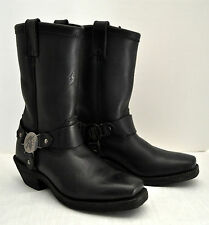 Vintage Chippewa Motorcycle Boots(Men-6 1/2 Women 8 1/2) Black Leather