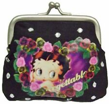 * SVENDITA * BETTY BOOP SMALL Nero Fibbia Borsetta DONNA WOMEN'S RAGAZZE