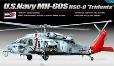 Academy 12120 Sikorsky MH-60S HSC-9 'Tridents' 1/35 Scale Plastic Model Kit NEW