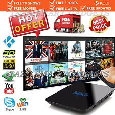 2017 MXQ XBMC 16.1 Fully Loaded Quad Core Smart Android 6 TV BOX Free HD Sports