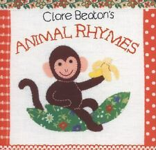 Clare Beaton's Animal Rhymes by Barefoot Books Staff (2014, Board Book)