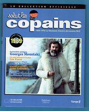 ►SALUT LES COPAINS - COLLECTION OFFICIELLE LIVRE+CD 1969 - MOUSTAKI - LEO FERRE