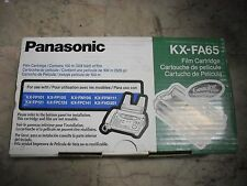 New ! 2PK GENUINE PANASONIC FAX CARTRIDGES KX-FA65 KX-FM106 KX-FPW111