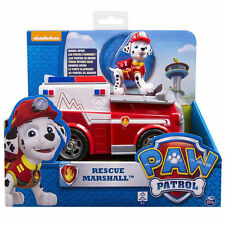 Paw Patrol Pup and Vehicle - Rescue Marshall Fire Fightin' Truck Spinmaster