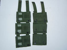 Lot of 6 Molle II ALICE  Adapters OD Used