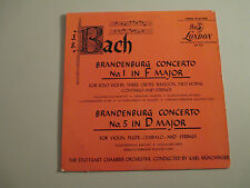 BACH-BRANDENBURG CONCERTOS 1&5-MUNCHINGER- VINYL LP RECORD-LONDON FFRR 222-