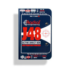 Radial J48 Active DI Direct Box W/ Pad & Phase Reverse OPEN BOX
