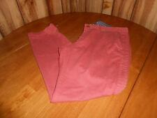 * Womens 18 32 Inseam Eddie Bauer Boy Friend Button Fly Twill Pants Style 9618