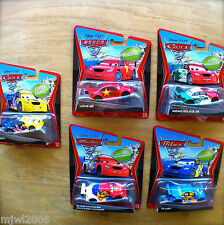 Disney PIXAR Cars 2 FROSTY RUSSIAN MEMO ROJAS JR FLASH LONG GE lot 5 SUPER CHASE