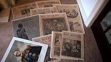 RARE COLLECTION 1937 ROYAL CORONATION NEWSPAPERS / SOUVENIR BOOK