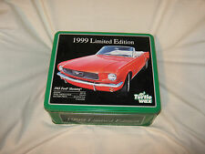 1999 Limited Edition Turtle Wax 1965 Ford Mustang Convertible Metal Container