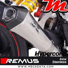 Silencieux Pot échappement Remus Hypercone inox Ducati Hypermotard 939 - 2017