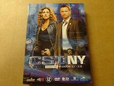 3-DISC DVD BOX / CSI: NY - SEIZOEN 2 - AFLEVERINGEN 2.1 - 2.12 ( DEEL 1 )