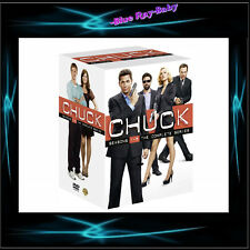 CHUCK - COMPLETE SERIES SEASONS 1 2 3 4 5 *** BRAND NEW BOXSET***