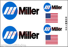 HO SCALE CUSTOM TRUCK CONTAINER MILLER WELDING DECAL SET HOMW100
