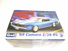 Revell 69 Camaro Z-28 RS Model Kit- Complete-Unbuilt-Instruction & Decal Sheets