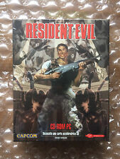 New factory sealed resident evil long box pc edition française libération capcom