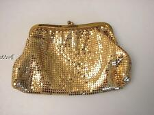 Whiting And Davis Gold Metal Clutch Purse