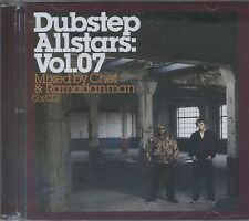 DUBSTEP ALLSTARS VOL. 07 2CD NEW Chef Ramadanman