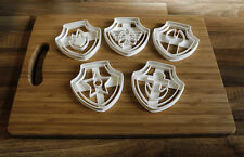 Paw Patrol Cookie Cutters - Set of 5 Paw Patrol Biscuit Cutters