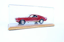 1:18 Die Cast Acrylic And Wood Car Display Case For Muscle Cars And NASCAR