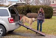 NEW Pet Gear Travel Lite Dog Ramp Tri Fold for car van Disabled injured Elderly