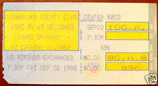1988 Lynyrd Skynyrd Concert Ticket Stub