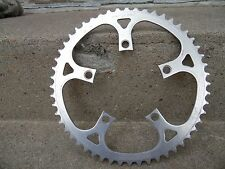 VTG - Sugino 80's Chainring 110mm 52t Road Moutain, bmx, Bicycle bike - silver