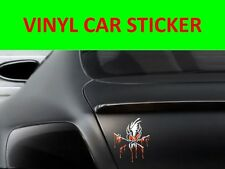 STICKER CAR VINYL SCARY METALLICA WHITE VISIT OUR STORE WITH MANY MORE MODELS