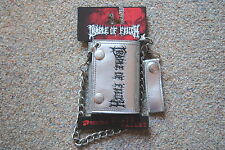 CRADLE OF FILTH LOGO SILVER CHAIN WALLET BNWT OFFICIAL COF MIDIAN THORNOGRAPHY
