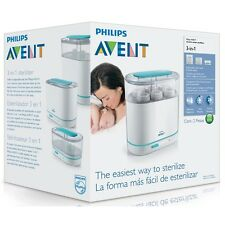 Philips AVENT 3-in-1 Electric Steam Steriliser BBA FREE Cleaner