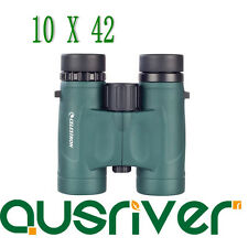 Celestron Nature DX Series 10x42 Binoculars BAK-4 Bird Watching Xmas Gift 71333