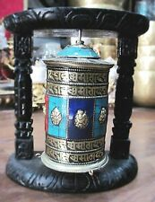 TIBETAN PRAYER WHEEL,Hand Made In Nepal ,Wall Hanging,Gifts From Nepal -  5001