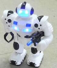 VERY FUNNY ELECTRIC ROBOT WALKING SOUND LIGHT FREE SHIPPING