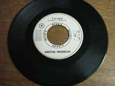 ARETHA FRANKLIN 45 TOURS ITALIE PROMO THINK