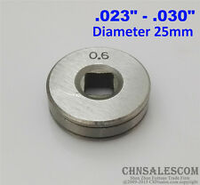 """Mig Welder Wire Feed Drive Roller Roll Parts 0.6-0.8 V-Groove  .023""""-.030"""""""