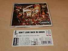 OASIS - DON'T LOOK BACK IN ANGER - ESCA 6392 - JAPANESE CD!!!!!!!!!!!!!!!!