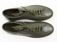 NEW COMMON PROJECTS ACHILLES ORIGINAL LOW Army Green Leather 42 EU