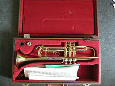 B & M Champion trumpet with case
