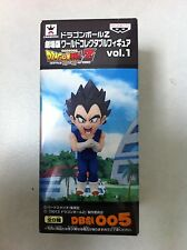 DRAGON BALL Z 05 VEGETA BATTLE OF GODS WCF FIGURA NUEVA NEW FIGURE