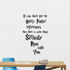 Harry Potter Quote Wall Decal Movie Poster Vinyl Sticker Bedroom Decor Art 85quo