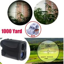 6x25 Clear laser range finder Scope1000 yards Rangefinder Binocular+Battery Kit