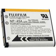 Genuine Fujifilm NP-45A Li-Ion Original Battery FinePix JZ200 JZ210 JZ250 L55...