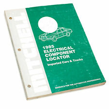 Mitchell Electrical Component Locator Imported Cars & Trucks 1985