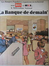 PUBLICITÉ BANQUE POPULAIRE AVEC RTL LE RÉFÉRENDUM NATIONAL LA BANQUE DE DEMAIN