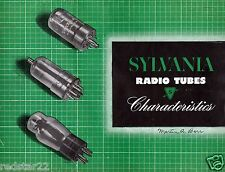 Sylvania Tube Substitution, Plus Characteristics Manual & Transmitting and on CD