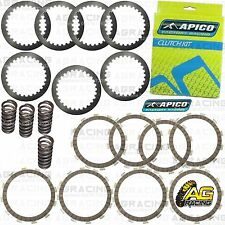 Apico Clutch Kit Steel Friction Plates & Springs For Honda CRF 450R 2010 MotoX