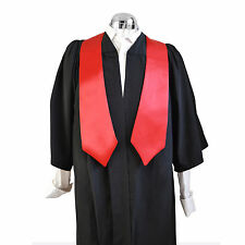 Graduation Honour Stole University Bachelor  Academic Scarlet Red Choir Sash