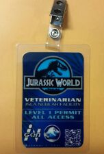 Jurassic World ID Badge - Veterinarian costume prop cosplay jurassic park
