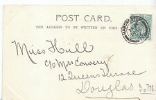 Genealogy Postcard - Family History - Hill - Douglas - Isle of Man  BH5499